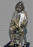 Reproductions of silver figures
