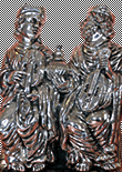 Silver figures and trophies